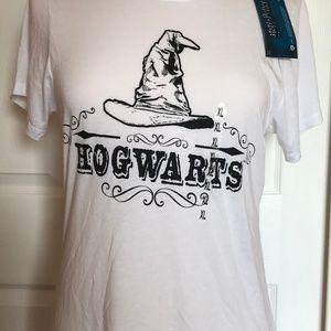 Tops - NWT Hogwarts T shirt sorting hat Juniors XL